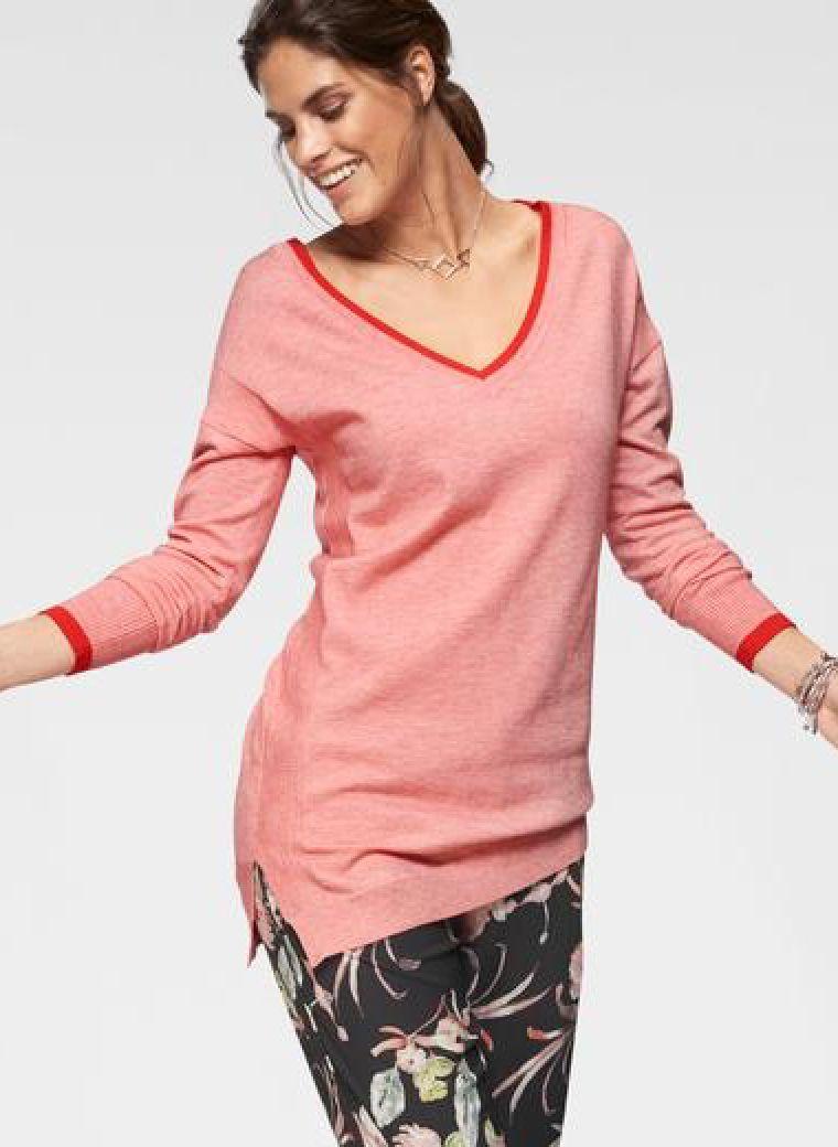 v-pullover in 2020 | kleider für große oberweite, mode