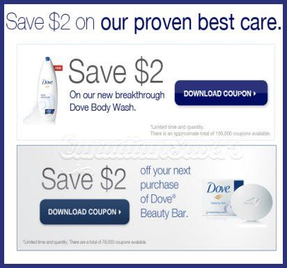 photo about Dove Printable Coupons named Dove Printable Coupon codes: Acquire Up in direction of $4 Off! Printable
