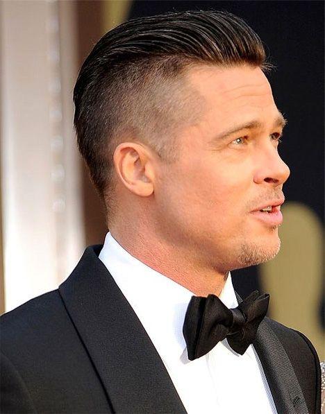 Brad Pitt Stylish Oscar Haircuts   Men Hairstyles   Hair ...