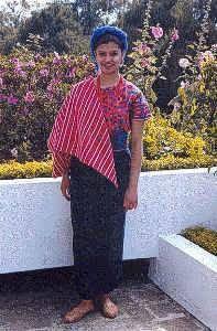 David Rodriguez Blog: Trajes Tipicos de Guatemala.Santa Catalina Palopó, Atitlán