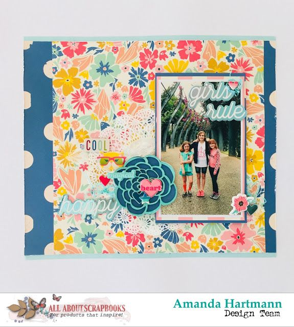 All About Scrapbooks Australia Girls Rule By Amanda H 2017 All