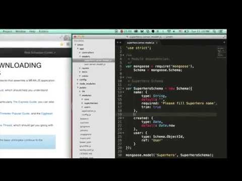 MEAN.JS - Full-Stack JavaScript Using MongoDB, Express, AngularJS, and Node.js