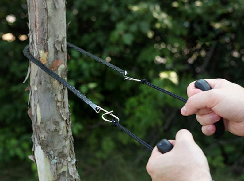 Portable Outdoor Pocket Hand Chain Saw Hiking Camping Survival
