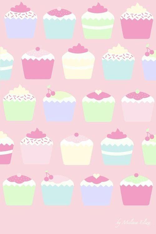 Pin By Danae Gurule On Iphone 6 Wallpaper Wallpaper Iphone Cute Cupcakes Wallpaper Cute Pastel Wallpaper