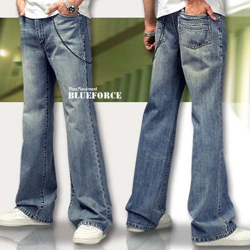 Find More Information about Light Color Jeans Men Boot Cut Jeans