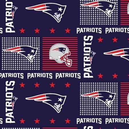 Nfl New England Patriots Cotton Fabric Per Yard Walmart Com New England Patriots Nfl New England Patriots Patriots