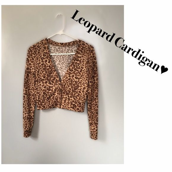 Leopard Cardigan Brand: Unknown - Removed Tag  Item: Cardigan - (4) Buttons - Long Sleeves - Deep V Neck  Size: Small - Fits True To Size  Material: 95% Polyester 5% Spandex  Condition: Gently Worn -- Has Some Fuzz Balls & Minor Pilling In Some Areas - There Are No Stains/Holes   No Trades   No Modeling  ✖️ No PayPal  ✅ Posh Only   Lighting May Vary- I try my best to get the exact color of the item being sold Sweaters Cardigans