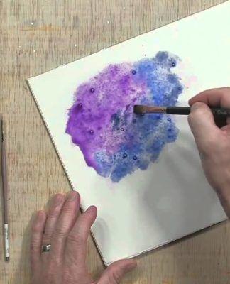 Cómo Aprender A Pintar Acuarela Paso A Paso Diy Acuarela Como