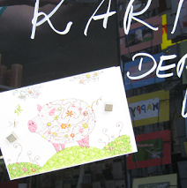 Unsere Karte der Woche bringt uns auch für die neue Woche Glück! Good luck for this week with our card of the week! http://bit.ly/1EPFXoV  #Schreibwaren   #Turnowsky   #Glückwunschkarten  Der Schreibladen, Schreibwaren & Lotto-Annahmestelle – Google+