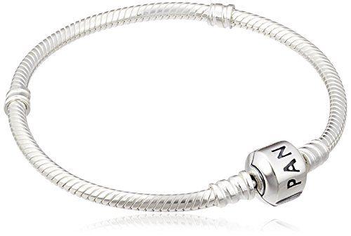 747444feb84 PANDORA Women's Iconic Standard 925 Sterling Silver Charm Bracelet ...