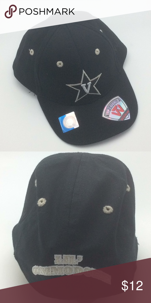 new product e0f80 37ad7 New Vanderbilt Collegiate Cub Hat, Infant, OSFM Officially licensed NCAA  Vanderbilt University Commodores infant fitted cap! 100% Cotton. 3D logo on  front.