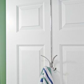 Merveilleux Solutions   X Long Over Door Hook. Easy For The Kids To Reach Their Towels.