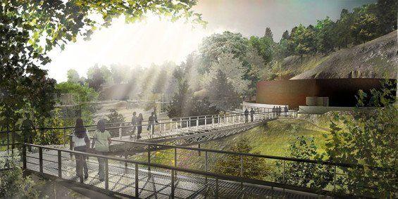 Mapo Tanks Industrial Park Regeneration In Seoul Competition Entry Landscape Concept Landscape Architecture Landscape Plans