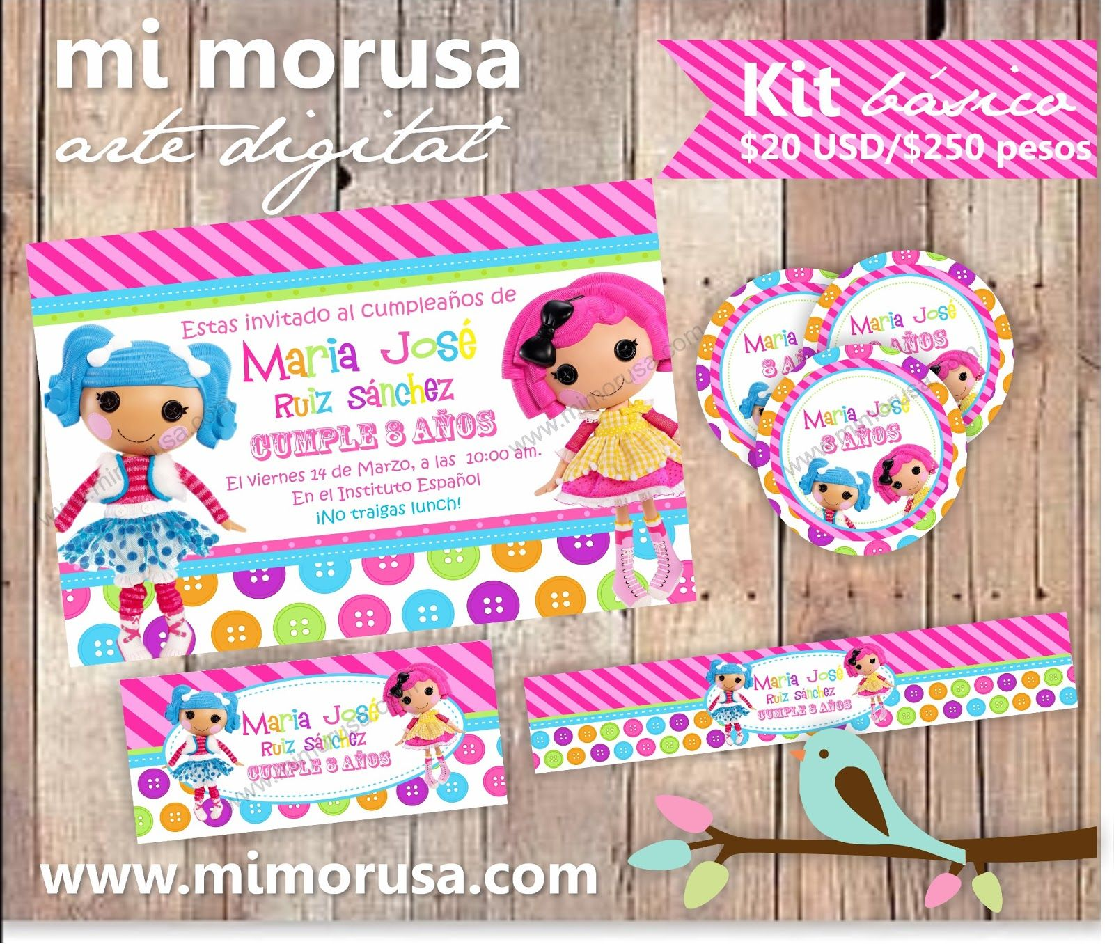 Lalaloopsy Invitations! | Party Ideas | Pinterest | Lalaloopsy and ...