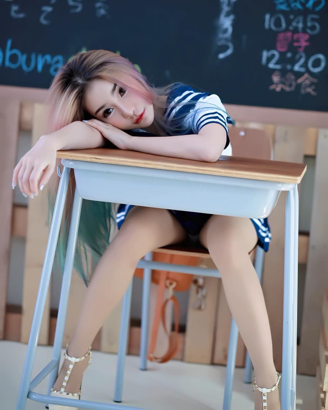 Skinny teens from tokyo