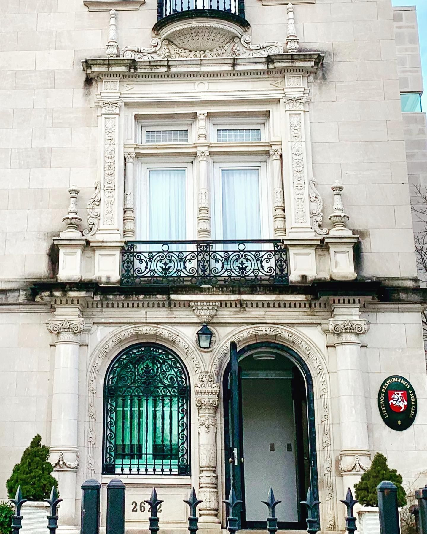The Embassy Of Lithuania In Washington Dc Adams Morgan Neighborhood 2622 16th Street Nw Was Estate Homes Real Estate Ferry Building San Francisco