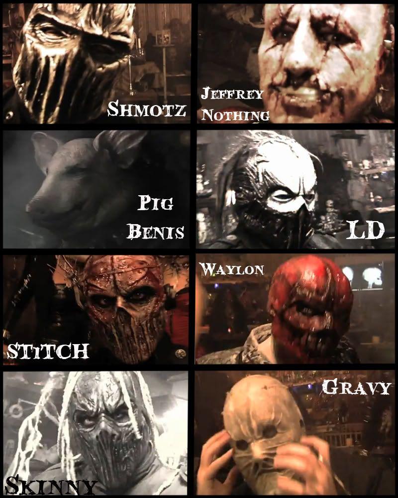 mushroomhead mask   Tumblr   Death Be Thy Face   Pinterest ...