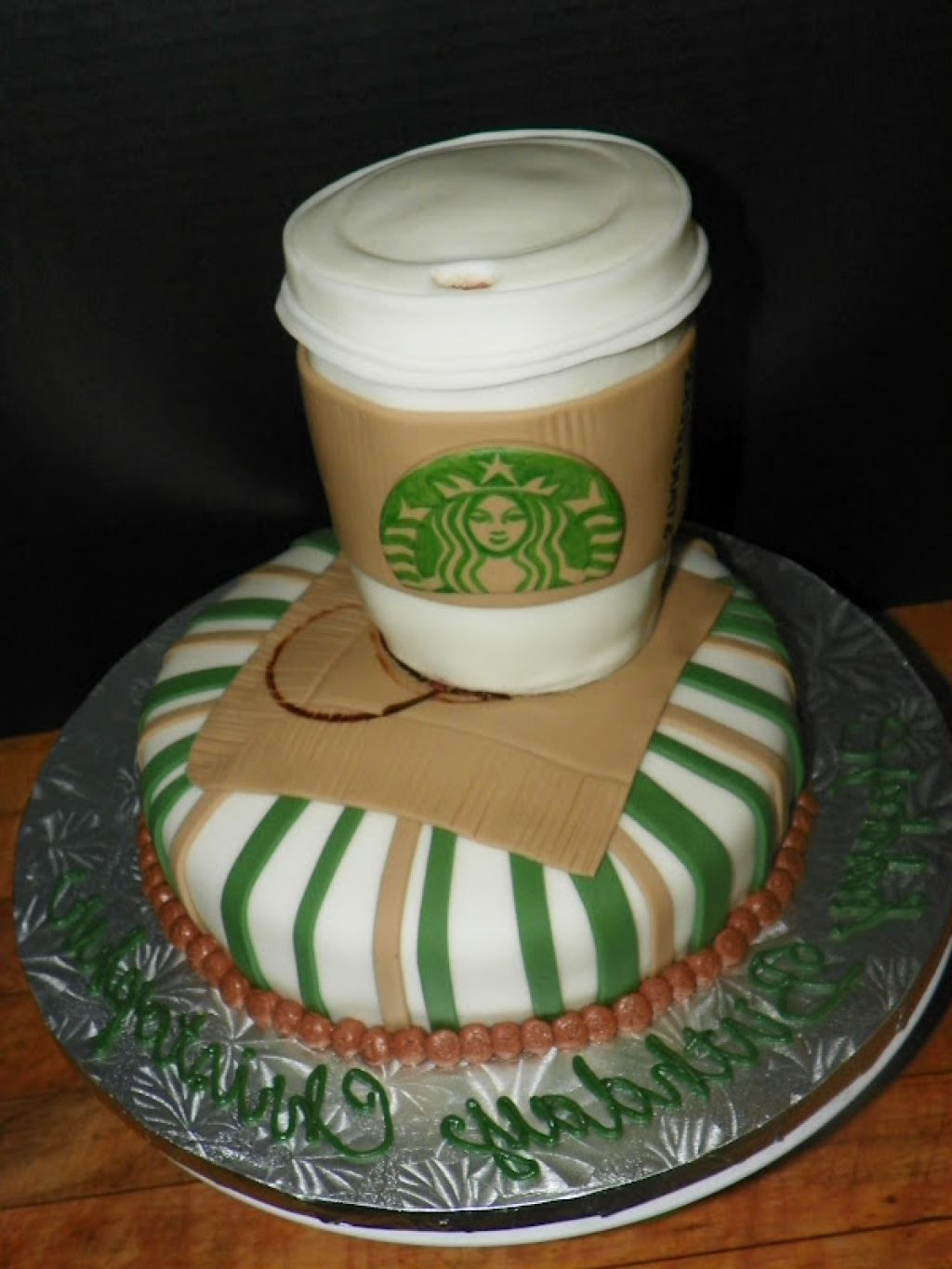Starbucks Birthday Cake Let them eat cake Pinterest Starbucks