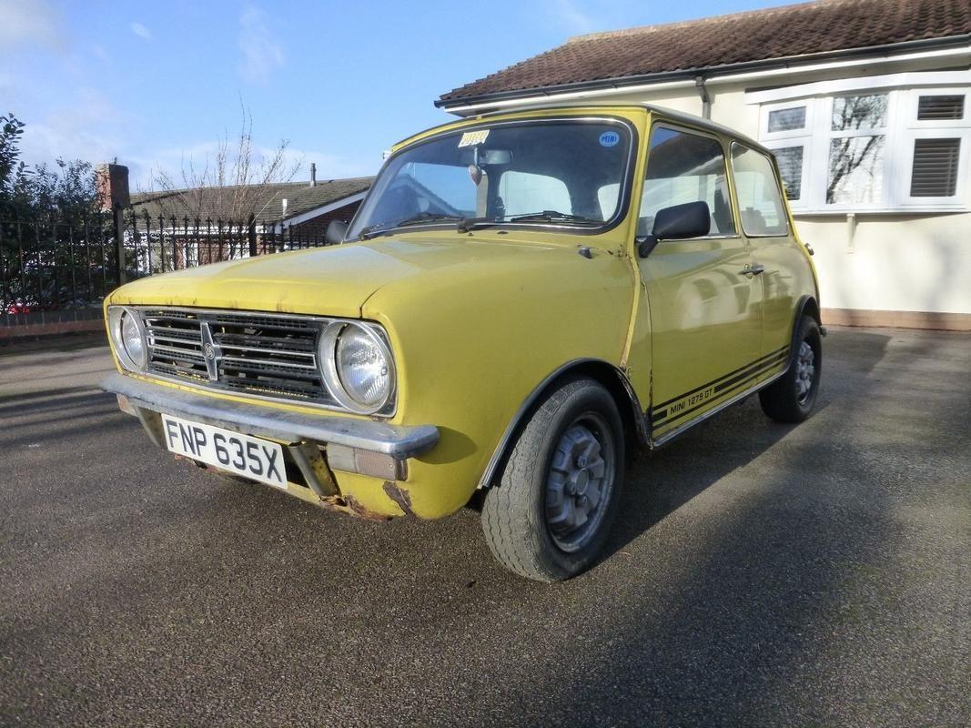 Classic Mini 1275 Gt Restoration Project
