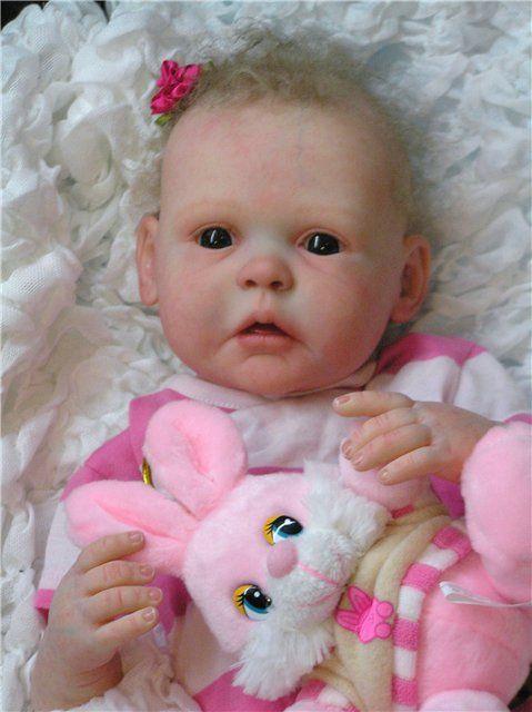 f45478a006f9 Малышка из молда Gracie. Кукла-реборн Анастасии Бочковой   Куклы Реборн  Беби - фото