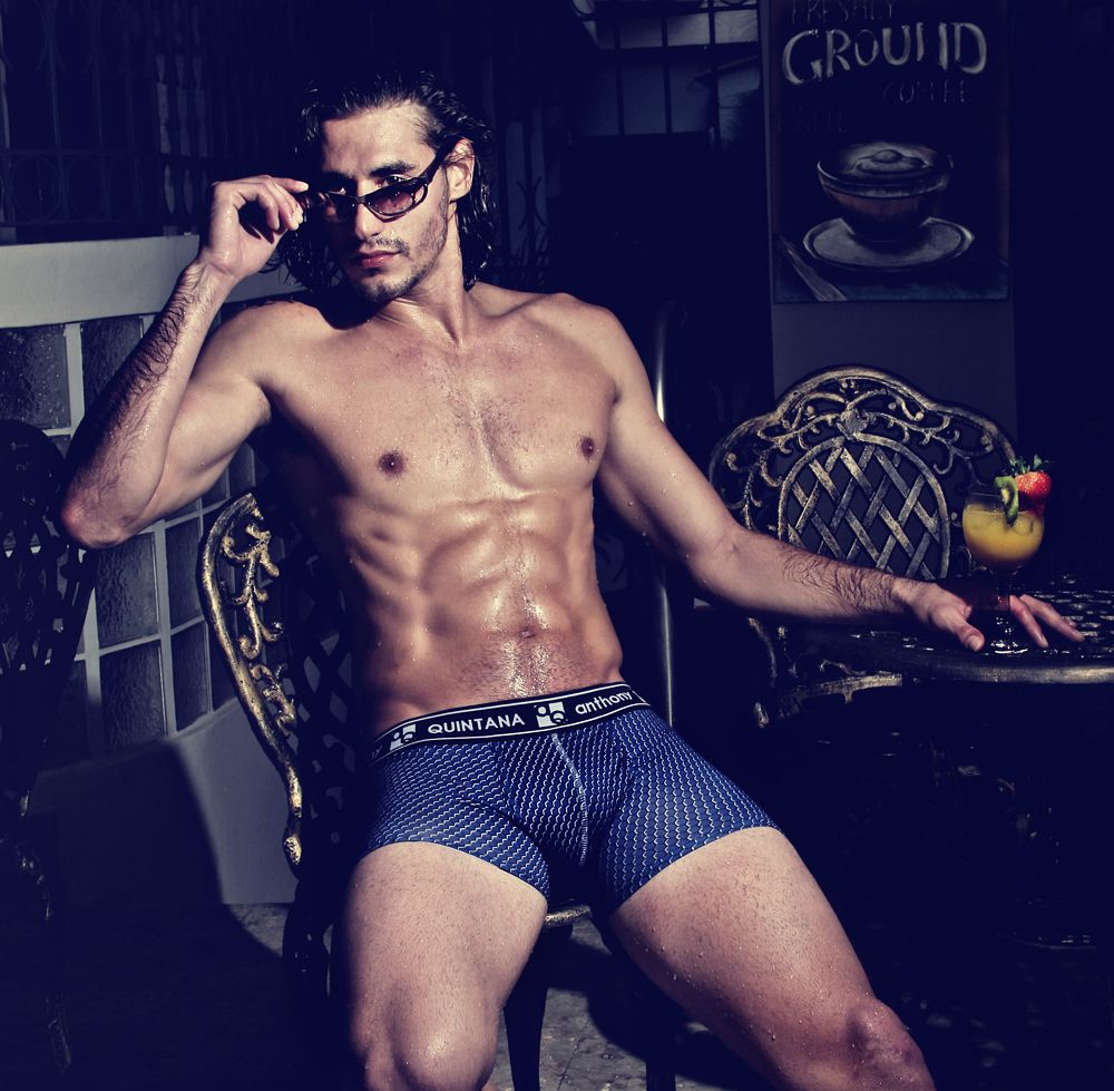 a7e501cf4b Illusion Underwear by AQ Anthony Quintana, Hybrid Underwear 2 in 1,  Underwear and swimwear at the same time!