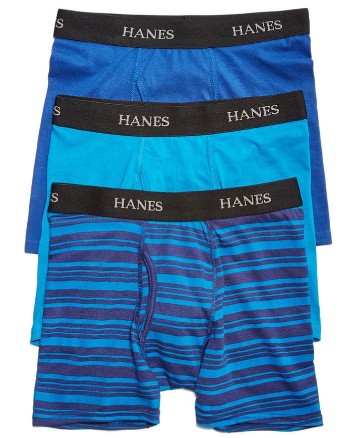 707164cc506a Hanes Little & Big Boys 3-Pk. Boxer Briefs in 2019   Products ...