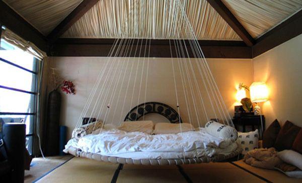 cama redonda camas colgantes decoracion interior dormitorio originales bedroom original decorations