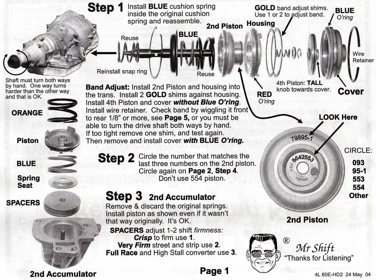 hight resolution of 4l60e rebuild diagram wiring diagrams schematics