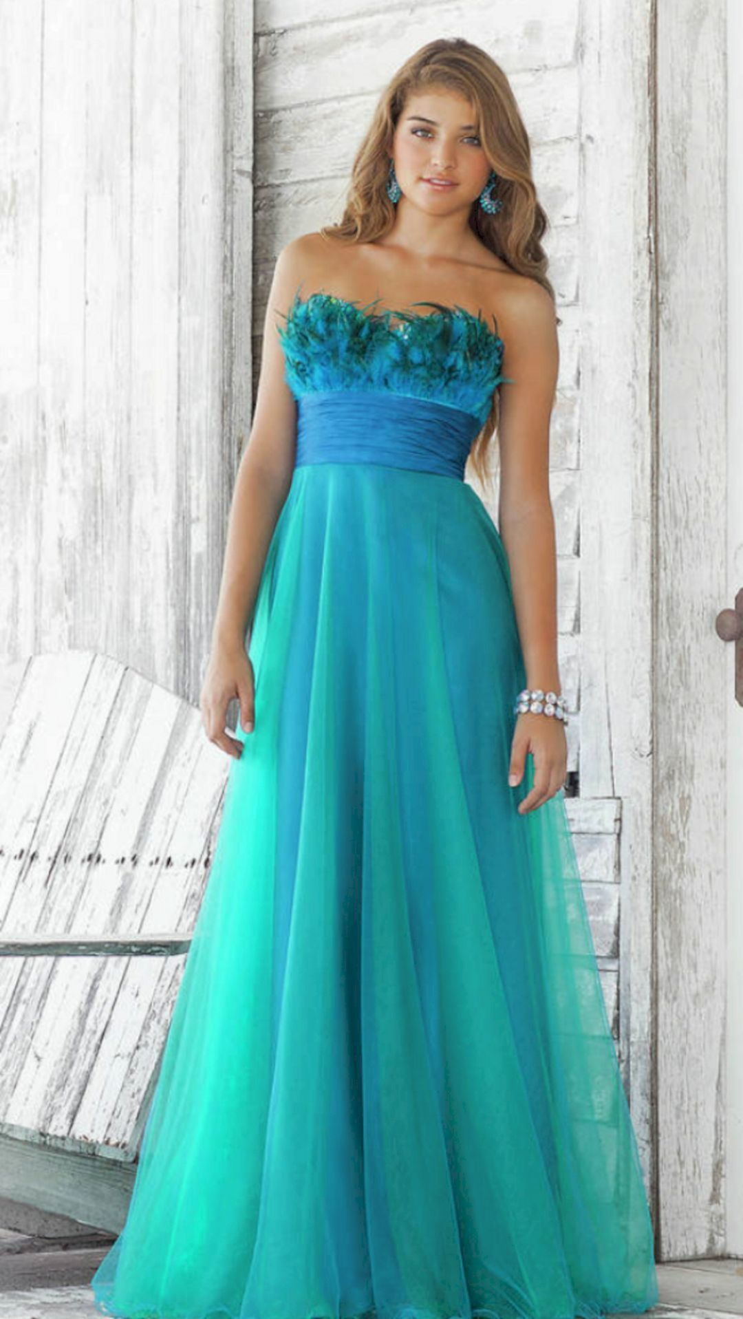 Best ideas about peacock wedding party bridal dresses