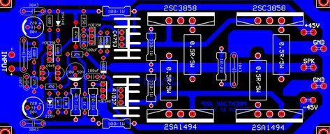 Audio Amplifier Circuit Diagram With Layout Dimarzio Super Distortion Wiring 5000w Power And Schematic Tested Modules