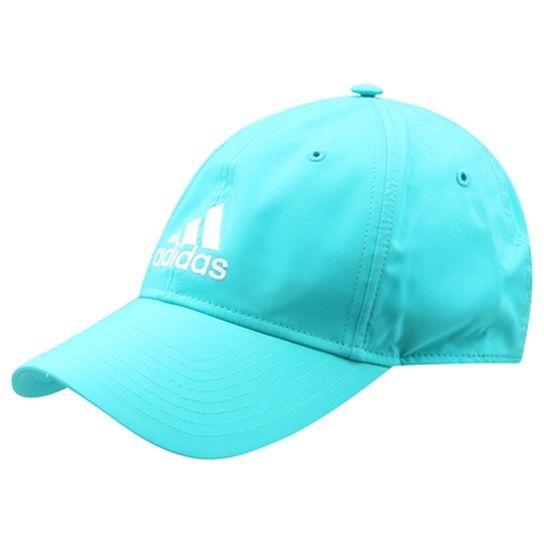 Boné Adidas Essentials Logo - Azul Piscina  6ce9c277f09