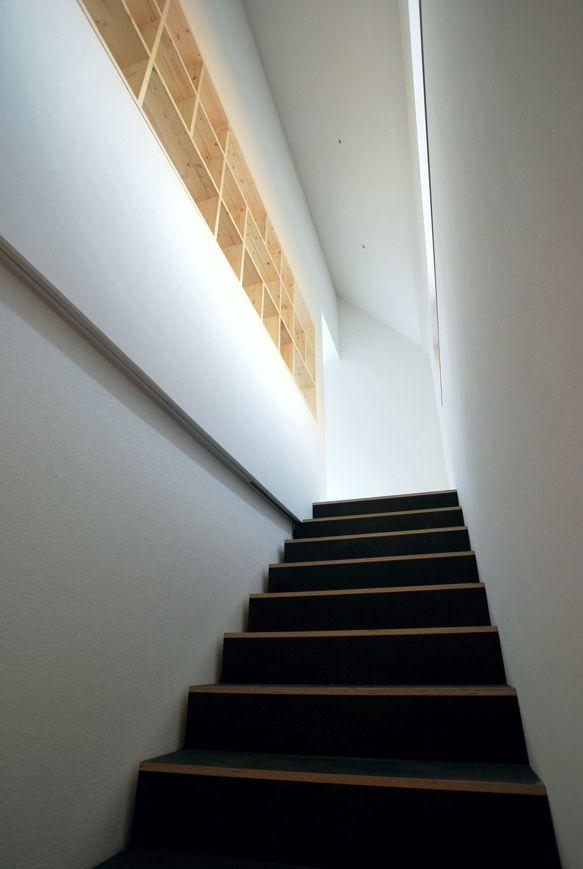 Schlichte Form und ungewöhnliches Material: Die Treppe im ...