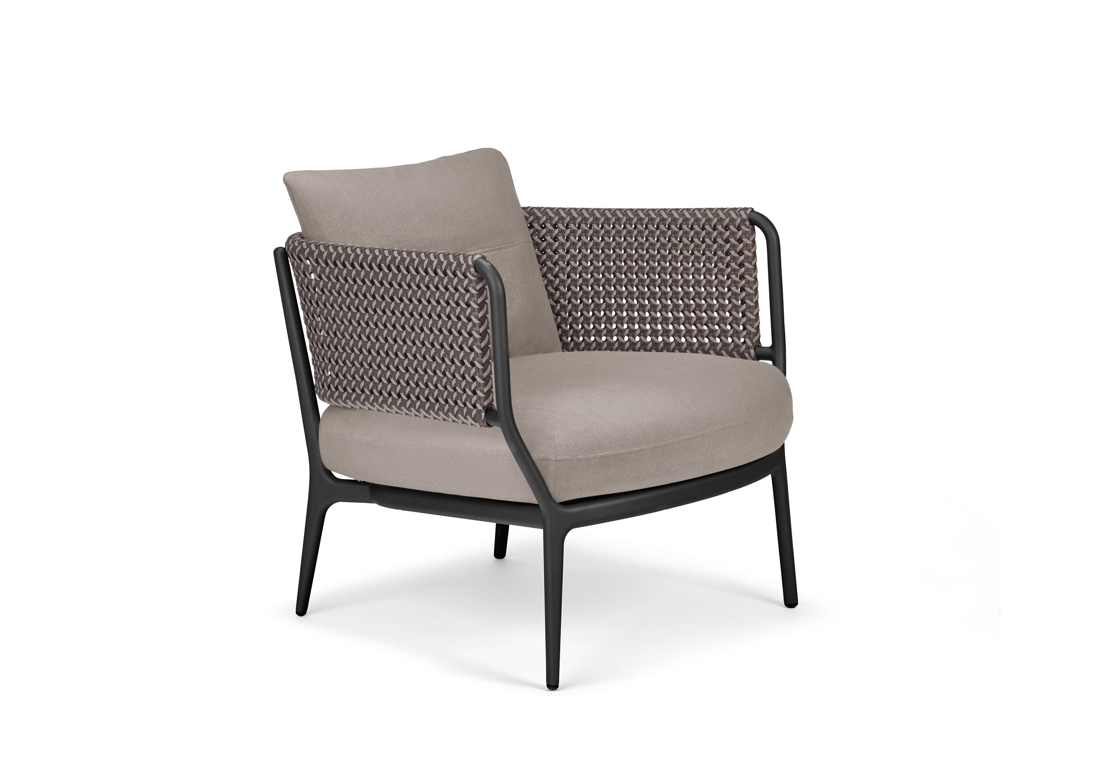 Garden Armchair With Armrests Bellmonde By Dedon Design Henrik Pedersen