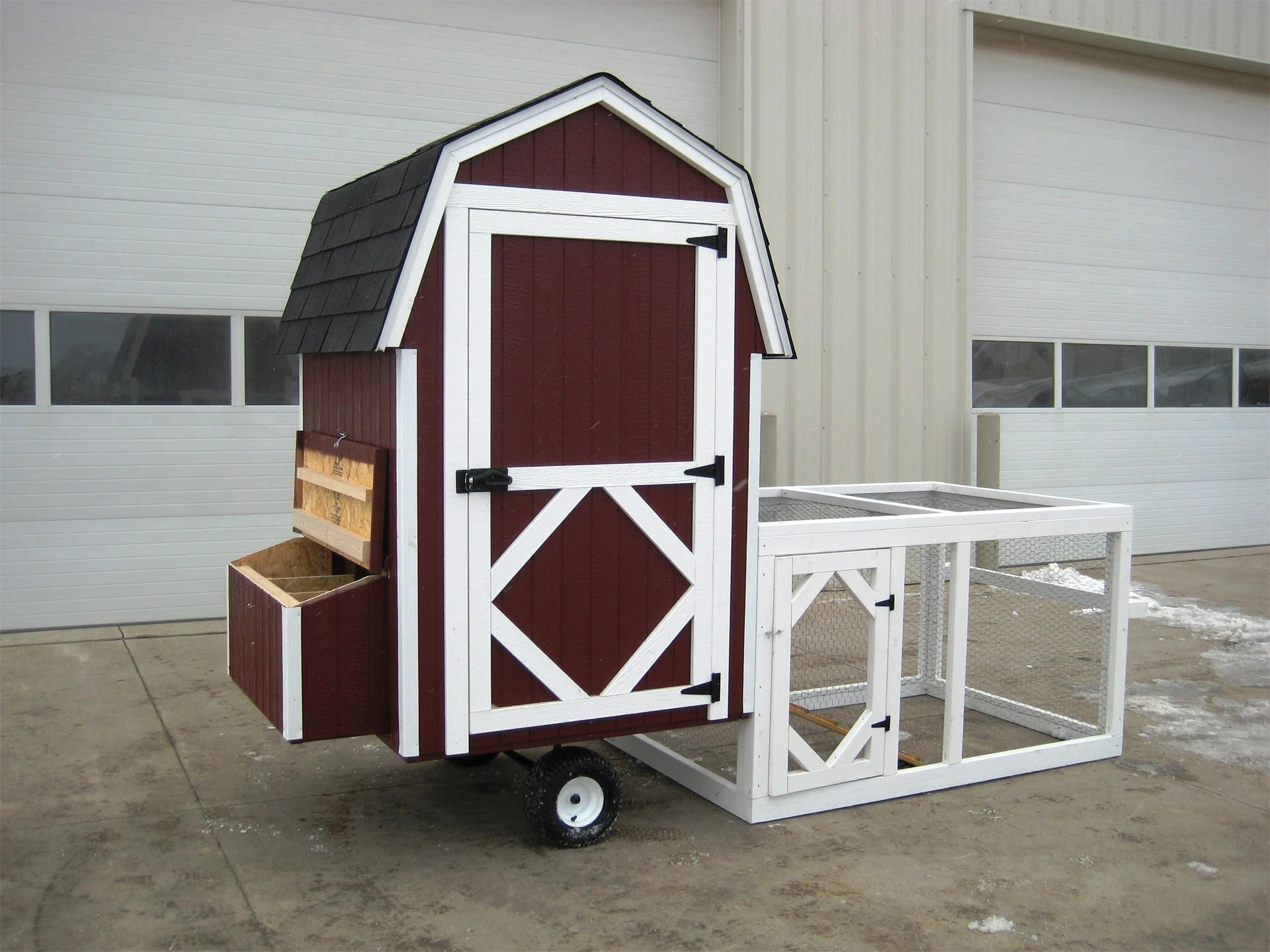 American Made Barn Run Chicken Coop Kit from Eco Friendly ...