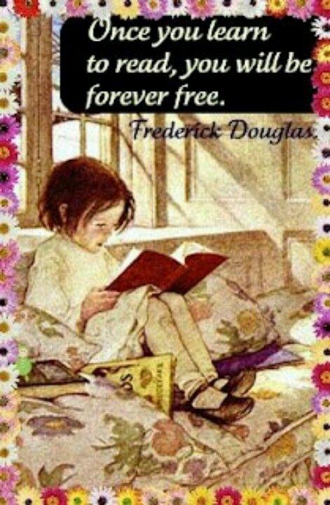 Reading is fun: Una vez que aprendas a leer, serás libre para siempre