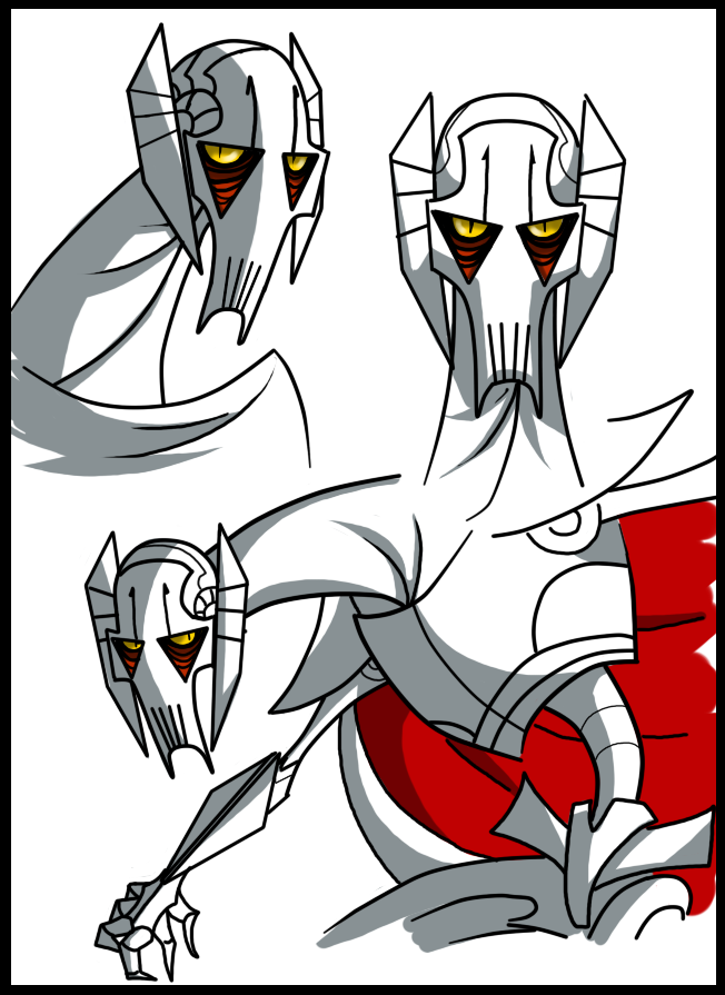 This Grievous Was Soooo Better Then The New One I Mean Common He Was Actually A Lot Deadlier Imposin Star Wars Images Star Wars Pictures Star Wars Clone Wars