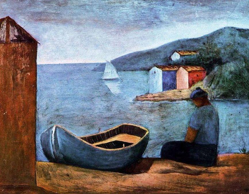 Carlo Carra - Barcaiolo