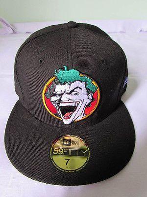 ec36ef099eb New era cap hat 59 fifty 59  fifty the joker  batman dc