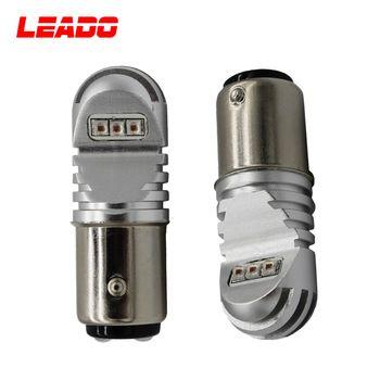 Waterproof 30w 12v 24v Led Brake Light Bulb 1157 3157 Ba15d Bay15d Socket Led W21 5w Car Lamp Led Lights Led Light