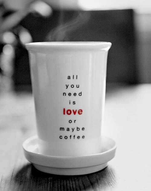 Love is all #coffee