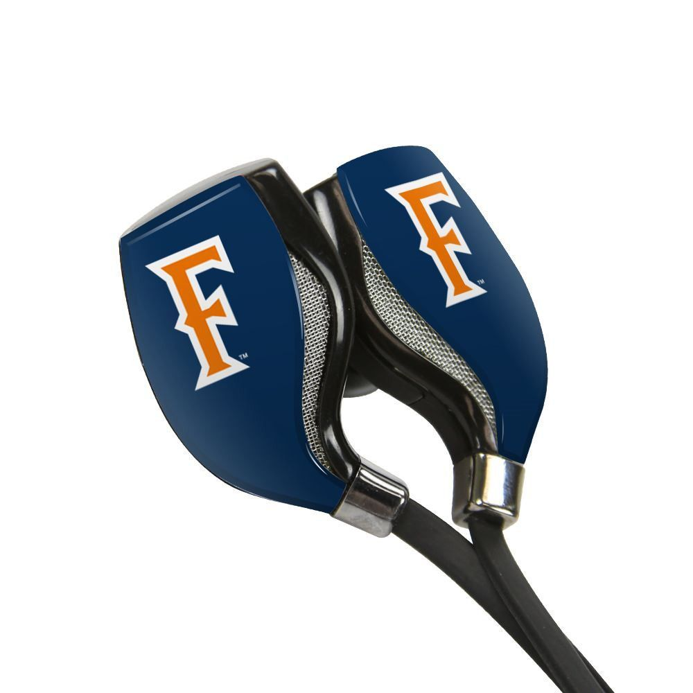 Cal State Fullerton Titans HX-200 Bluetooth¨ Earbuds with Budbag