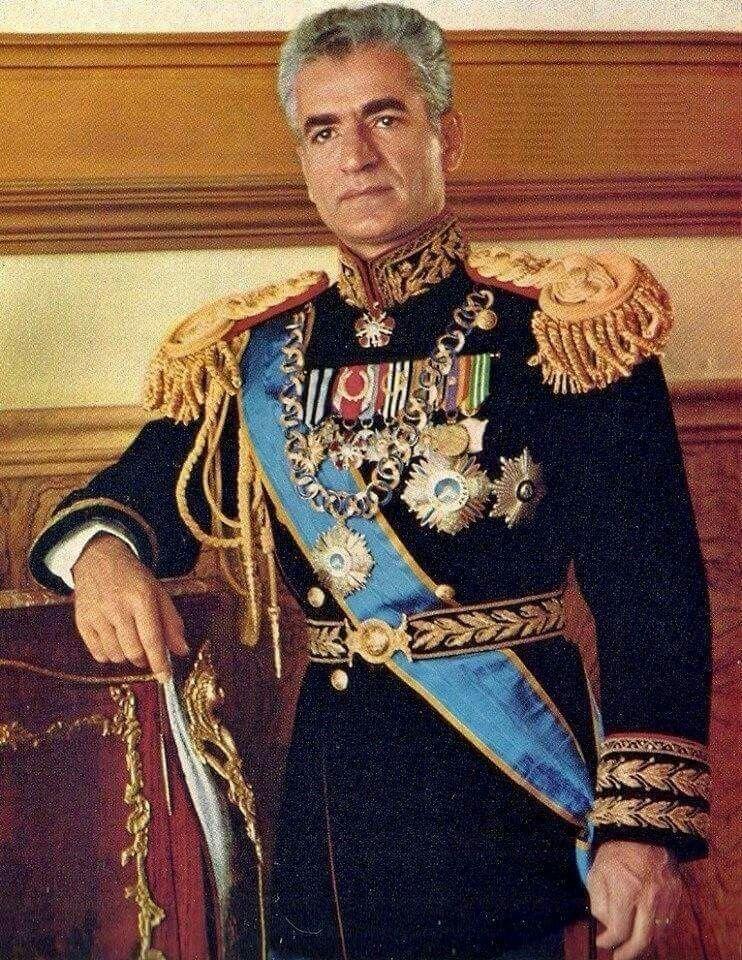 Mohammad-Reza Shah Pahlavi of ...
