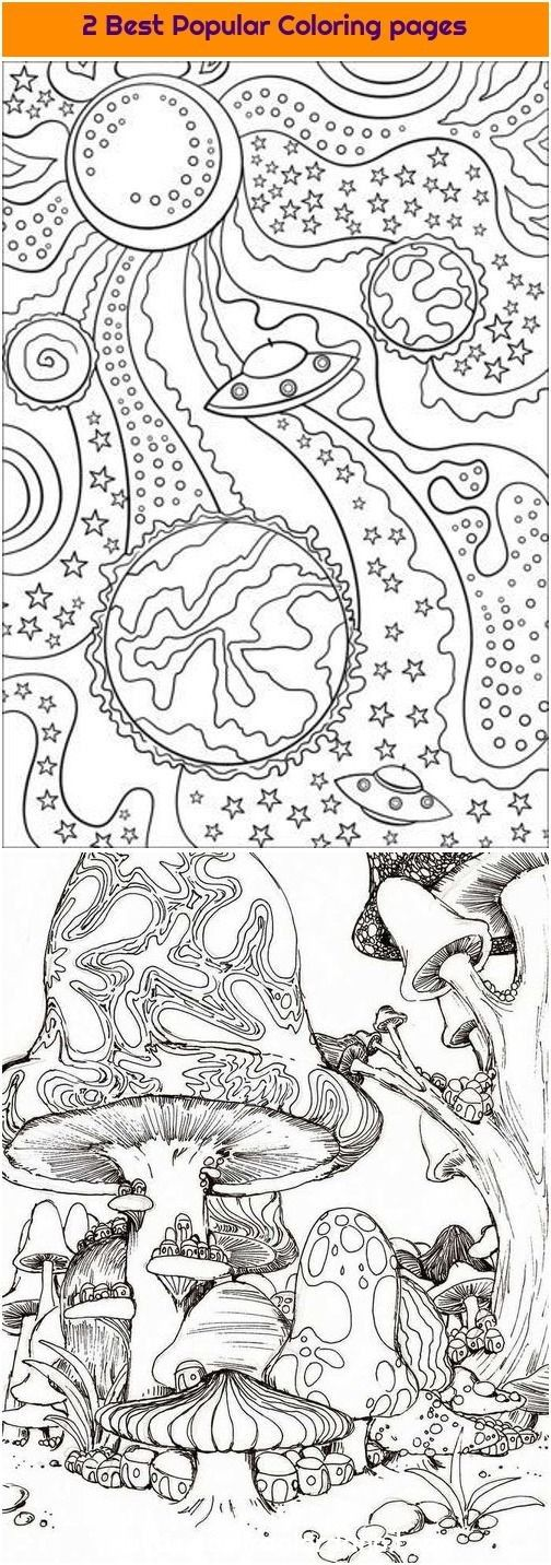 Coloring Pages For Space And Planets di 2020