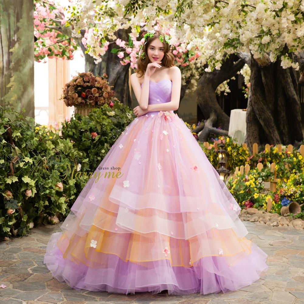 カラードレス | 大阪・堀江のウェディングドレス、カラードレス販売店 ...