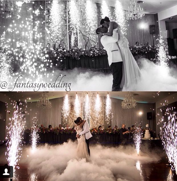 Fog Machine | Dream wedding | Wedding, Wedding first dance, Wedding