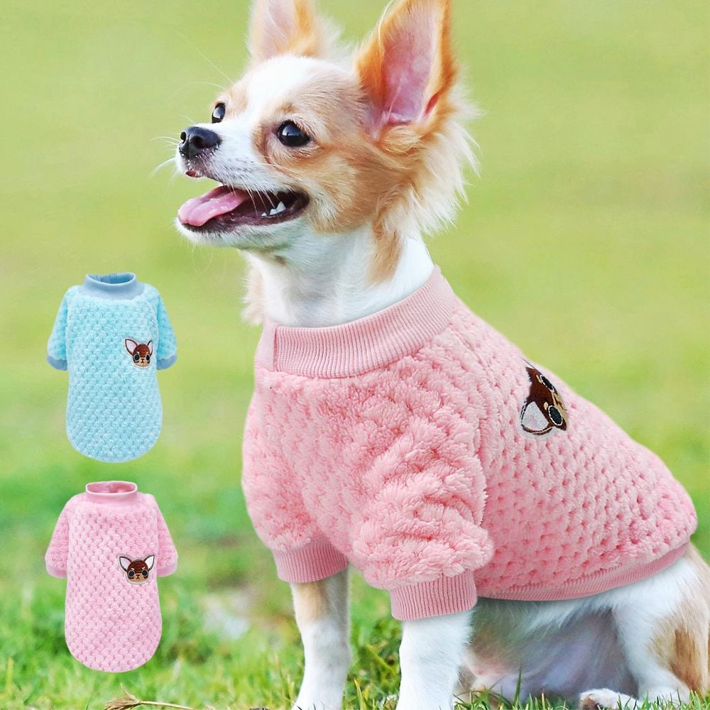 Cute Dog Clothes For Small Dogs Chihuahua Yorkies Pug Clothes Coat