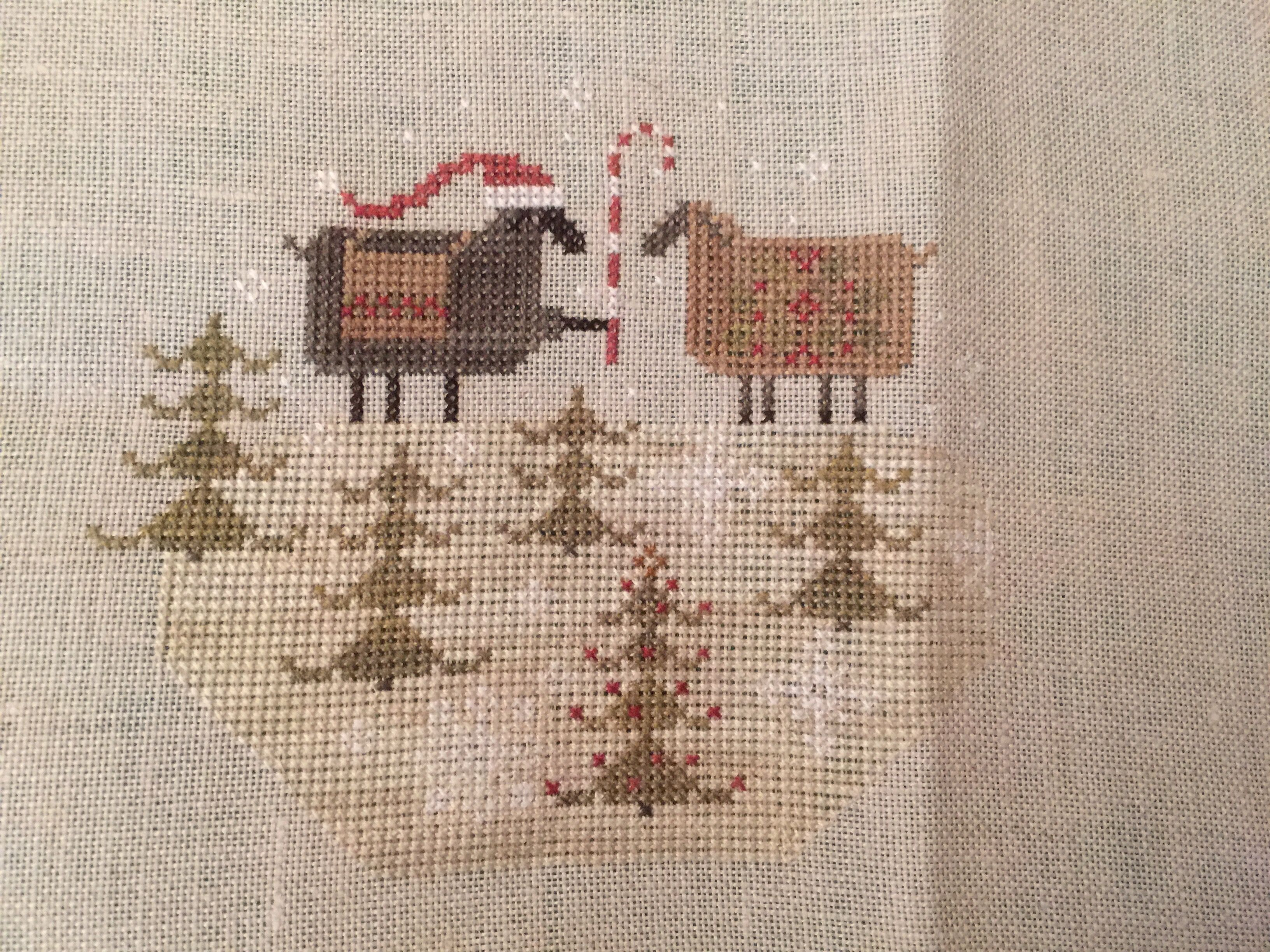 Pin Dianne Clemens Cross Stitch Christmas 123 Patterns