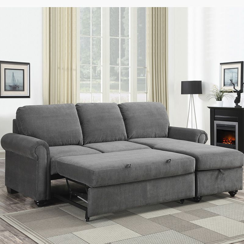 Costco Mexico   Pulaski, Newton, Sofa Bed With Storage, Gray Divan Beds,