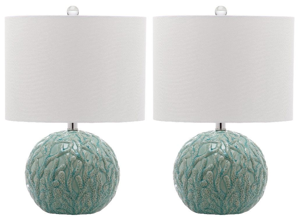 Robinson 20Inch H Table Lamp (Set of 2) Safavieh