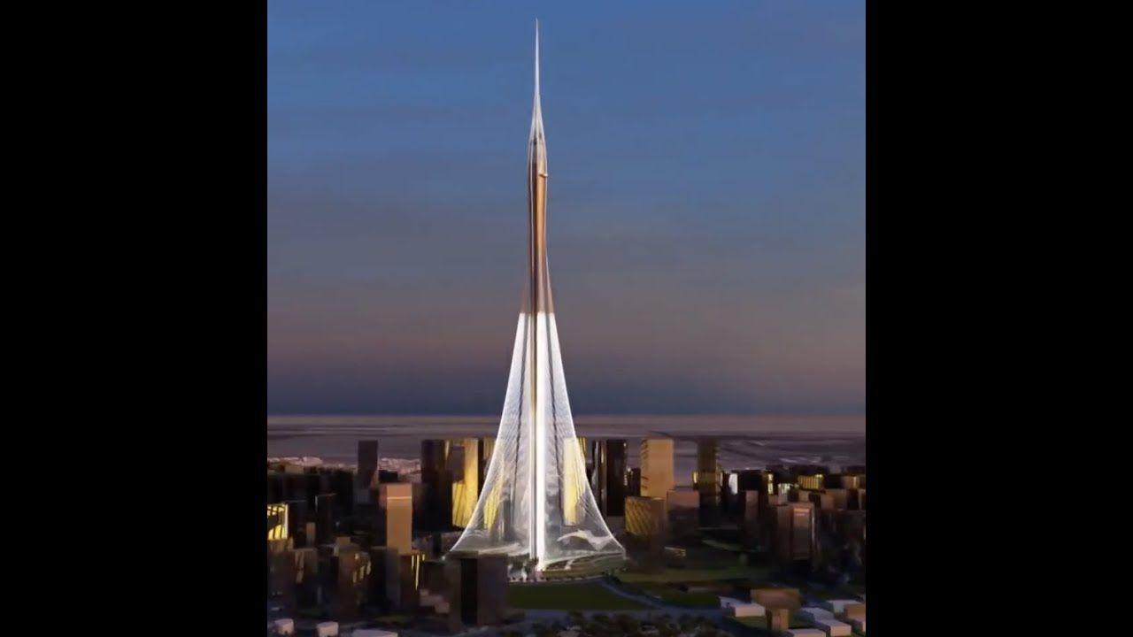 Dubai Creek Tower مجسم معماري برج خور دبي In 2020 Landmarks Travel Burj Khalifa